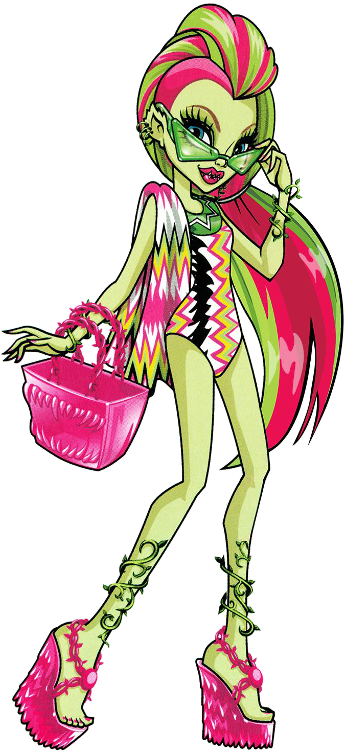 Venus mcflytrap swim monster. Swimsuit clipart swimming stuff