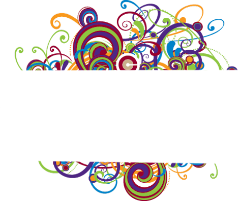 Swirl border png. Colorful psd official psds