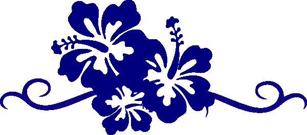 Hibiscus clip art vector. Swirl border png