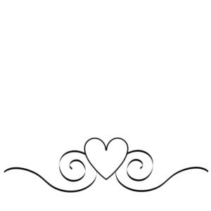 Swirl clipart. Wedding