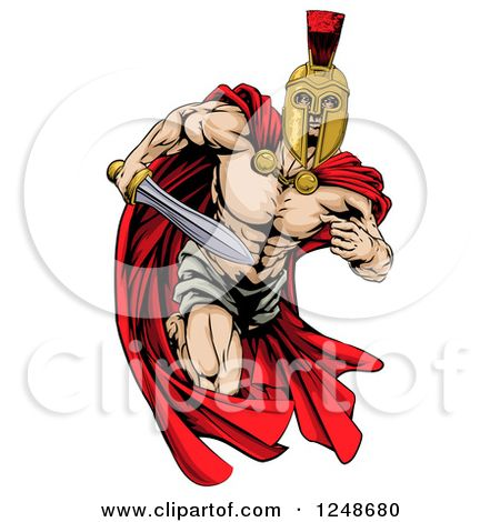 Pin on bible journaling. Warrior clipart strong warrior