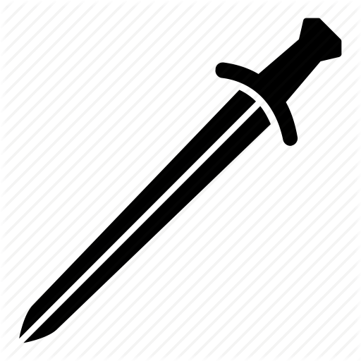 Arms and armor by. Sword icon png
