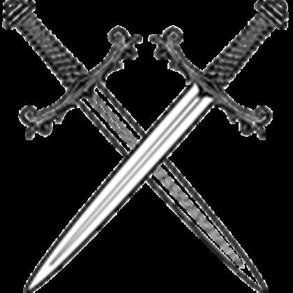Sword vector png. Crossed swords roblox crossedswordsvector