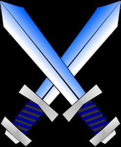 Clip art at clker. Swords clipart