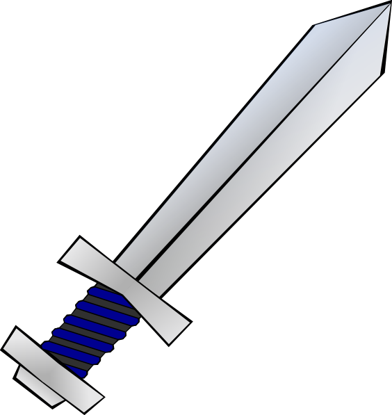 White clipart sword. Panda free images swordandshieldclipart