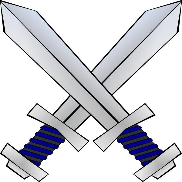 Crossed clip art free. Swords clipart