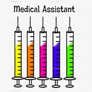 Syringe clipart medical assistant. Oral medication transparent cartoon