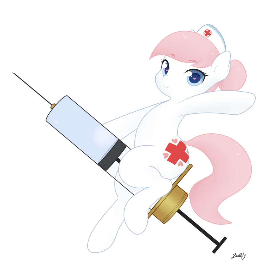 Syringe clipart nurse student. Redheart by zoarity on