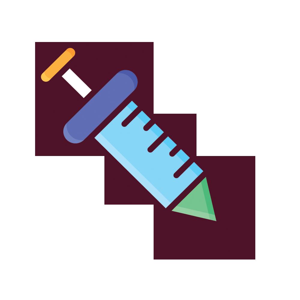 Injection clip art creative. Syringe clipart vector