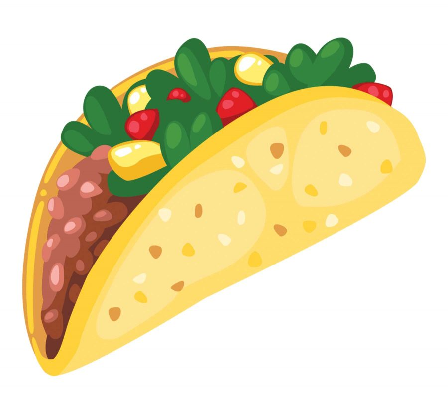 Student receives a full. Tacos clipart