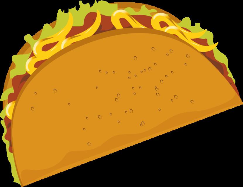 Tacos clipart. Taco clipartix