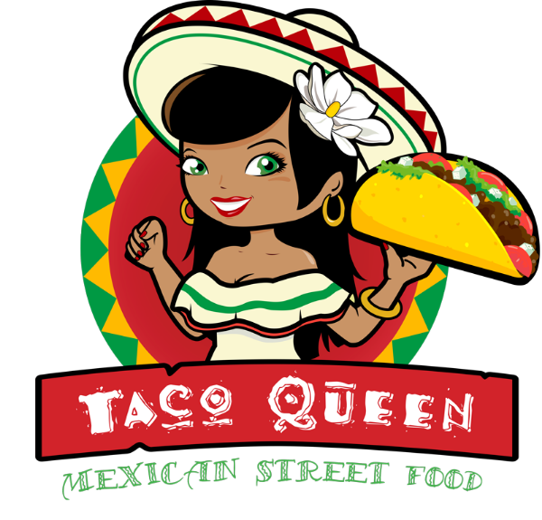 Tacos clipart burito. Taco queen