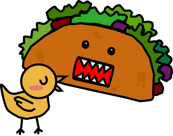 Mae clip art at. Tacos clipart chicken taco