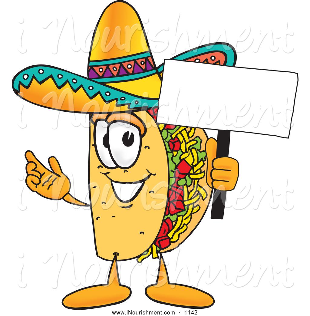 Tacos clipart comic. Taco cartoon images free