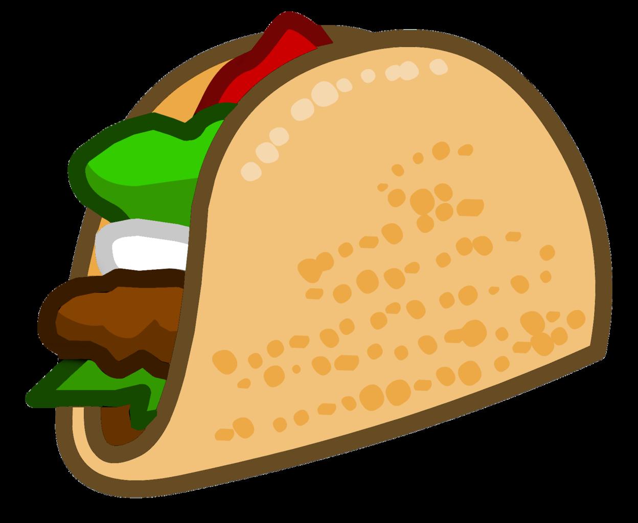 Image taco mexino icon. Tacos clipart comic
