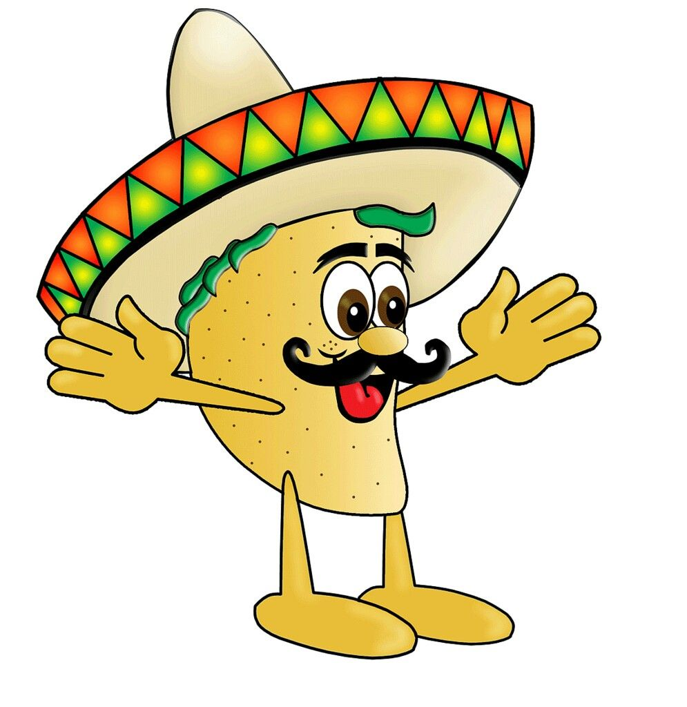 Taco tuesday cartoon . Tacos clipart comic