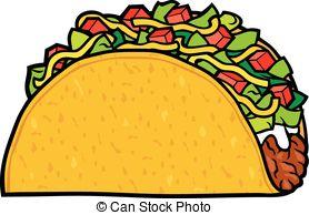 Tacos clipart crunchy. Taco free clip art