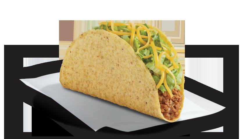 Del taco food value. Tacos clipart crunchy