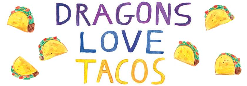 Tacos clipart i love. Dragons station