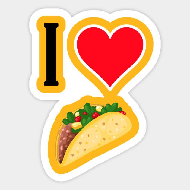 . Tacos clipart i love