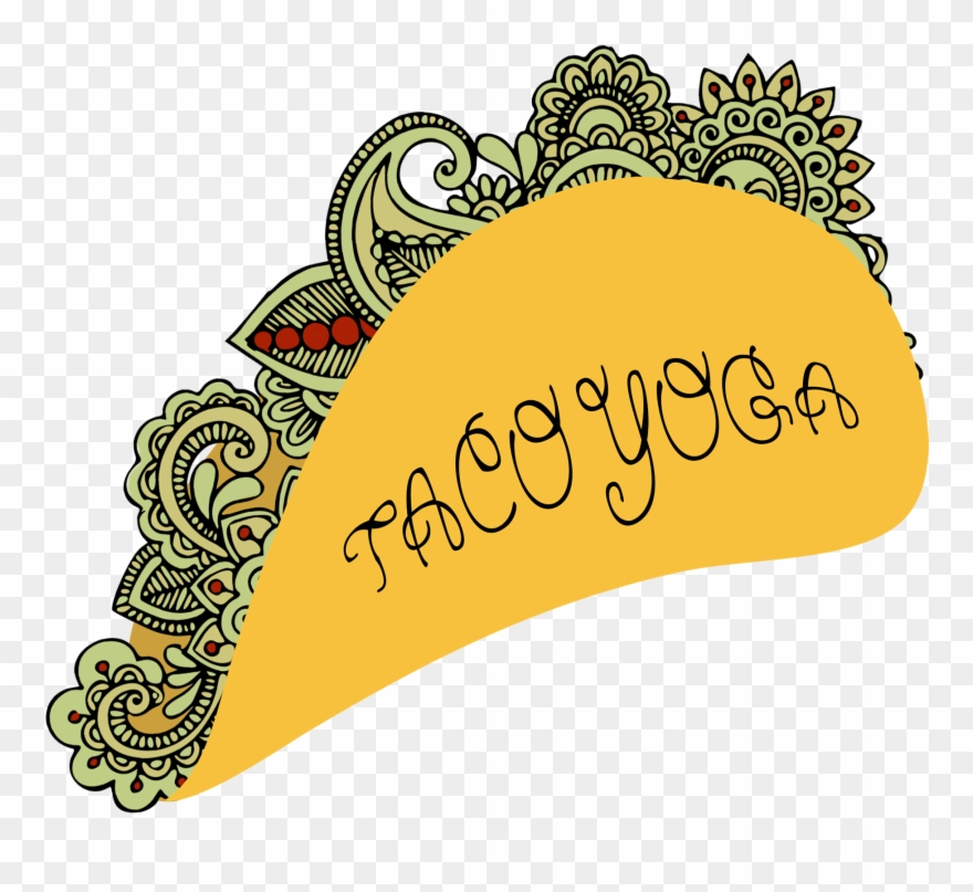 Tacos clipart illustration. Welcome to taco yoga