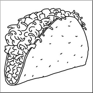 Tacos clipart illustration. Taco cinco de mayo