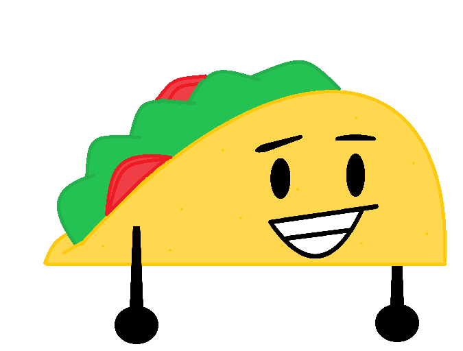 Tacos clipart smile. Image taco png objects