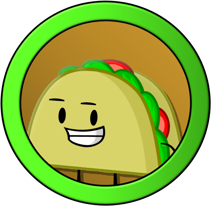 Inanimate insanity series taco. Tacos clipart smile