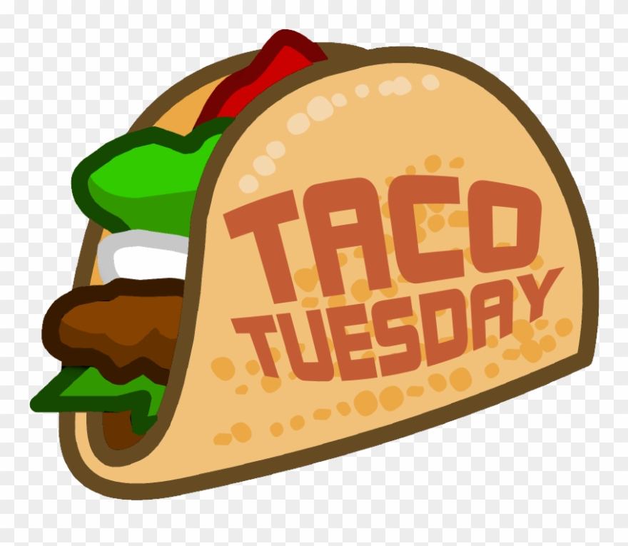 Tuesday los animados pinclipart. Tacos clipart taco night