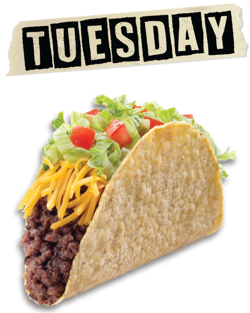 Our specials laura s. Tacos clipart taco night