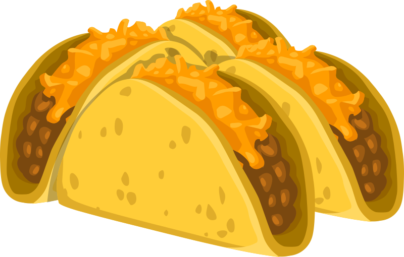 Free pictures clipartix clip. Tacos clipart taco night