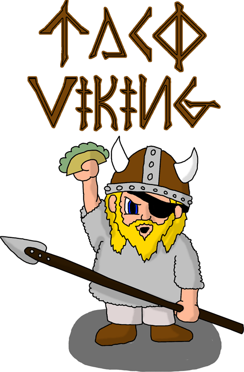 Dailydoodle viking m a. Tacos clipart taco person