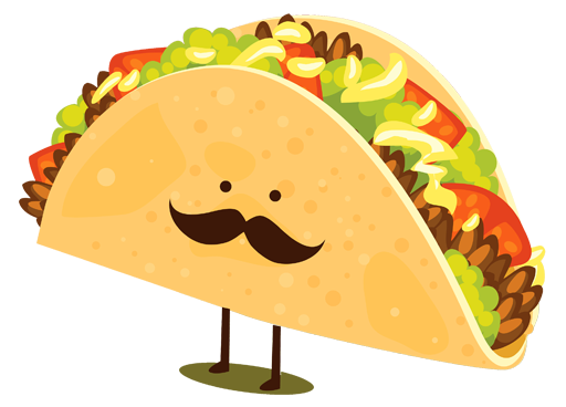 Tacos clipart taco person. A brief history of