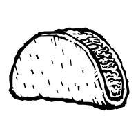 Free art downloads . Tacos clipart vector