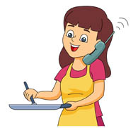 Search results for clip. Talk clipart