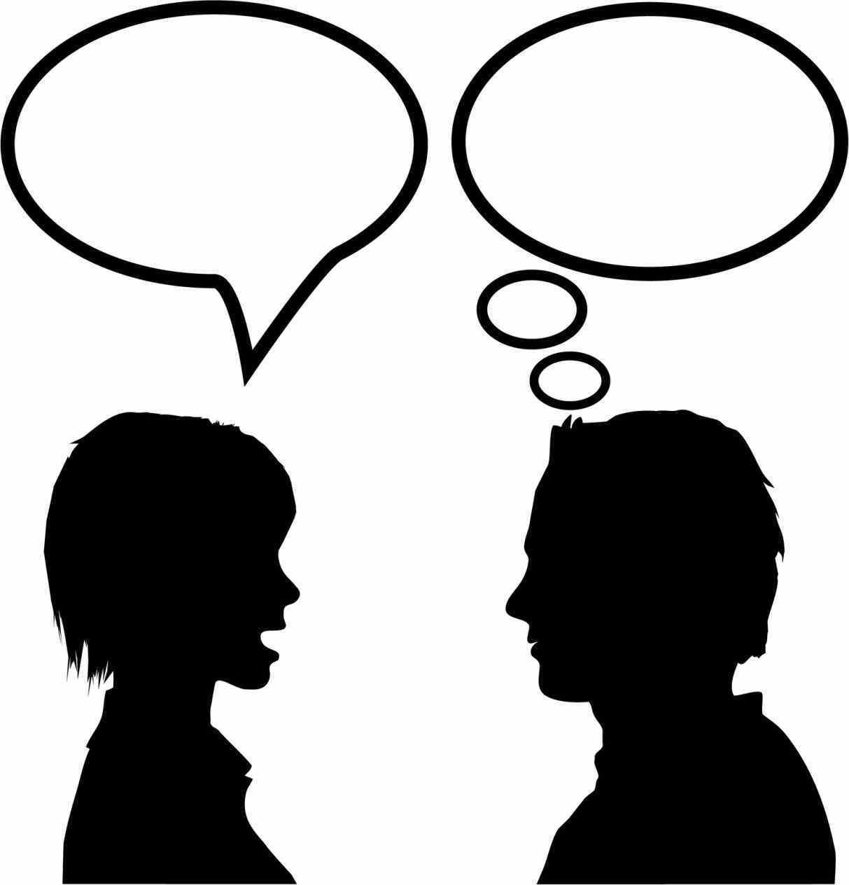 Talk clipart.  collection of partner