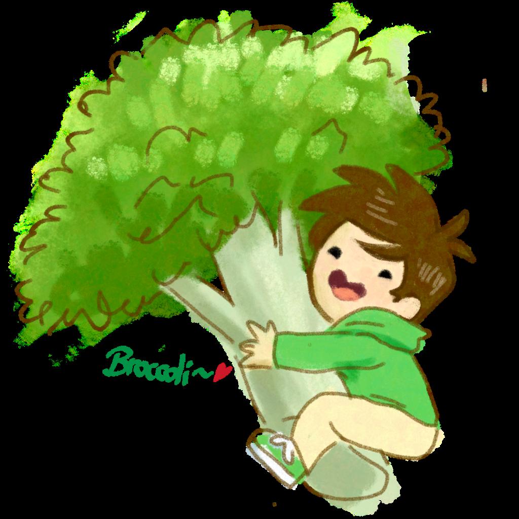 Tall clipart eddsworld. Edd gould eddgould broccoli