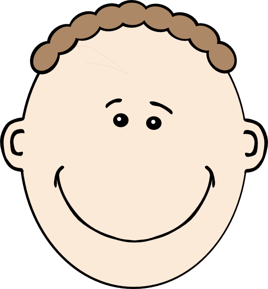 Tall clipart man smile. Face clip art at