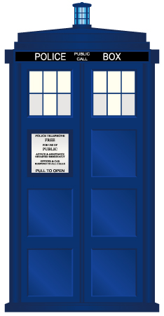 Ai file by ashley. Tardis clipart