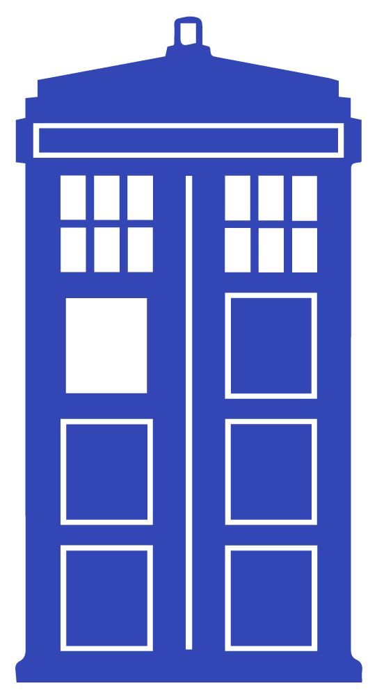 Tardis clipart. Got bored so created