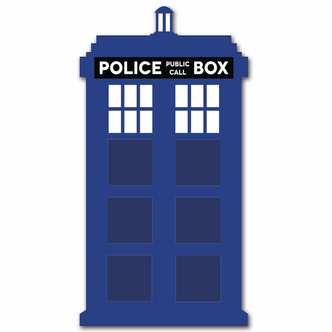 Tardis clipart. Doctor who large die