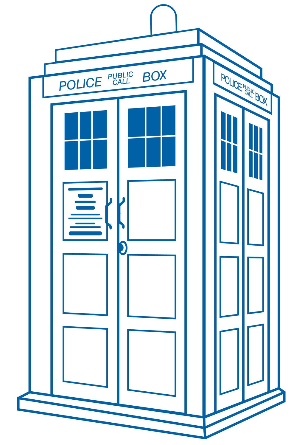 Cliparts co best doctor. Tardis clipart