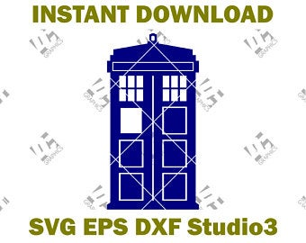 Tardis clipart current. Svg etsy