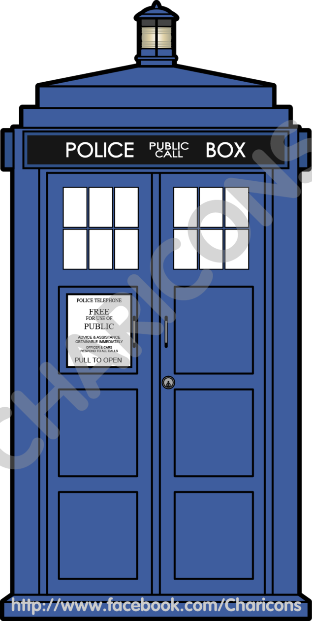 tardis clipart doctor who