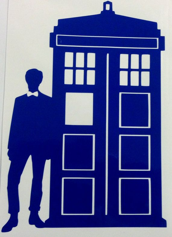 Tardis clipart eleventh doctor. Who inspired and decal