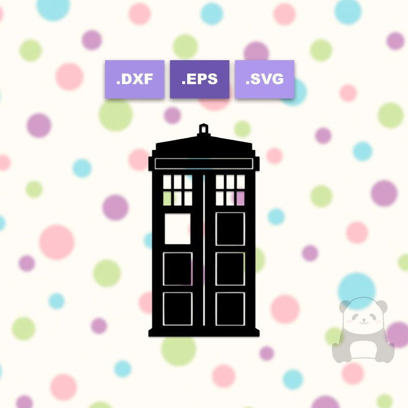 Tardis clipart file.  off dr who