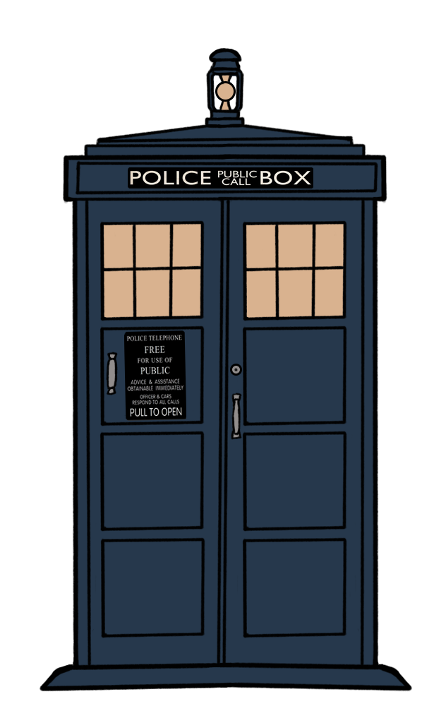Tardis clipart vector. Art of the new