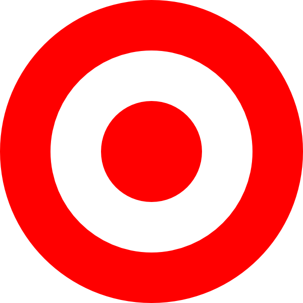 Red clip art at. Target clipart