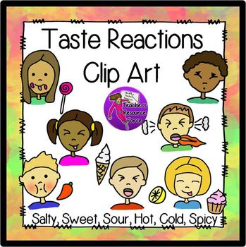 Reactions clip art panda. Taste clipart face