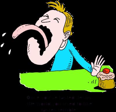 Taste clipart nasty food. Sense of free download